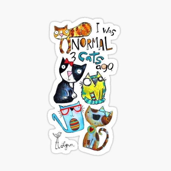 YAY Cats! Sticker