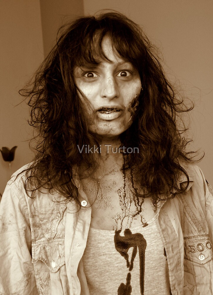Zombie 3 by Vikki Turton