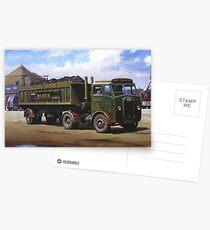 Maudslay artic on coal haulage. Postcards