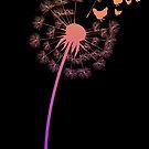 Cool Dandelion Chicken Flower Farming Gift von mjacobp