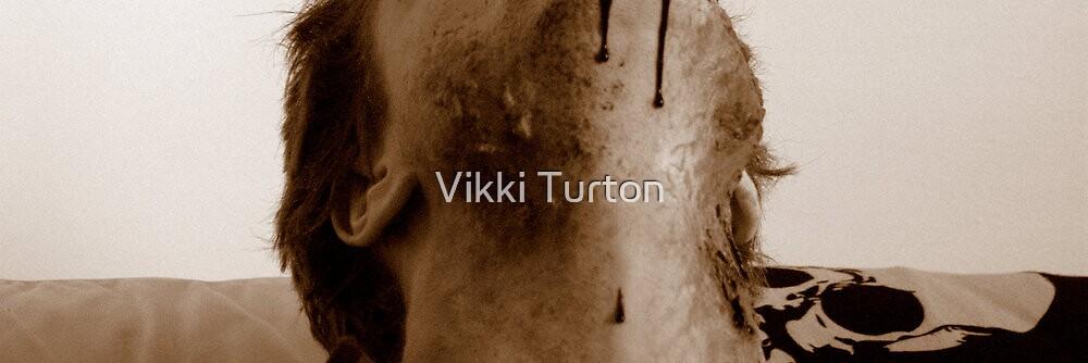 Cut throat Zombie by Vikki Turton