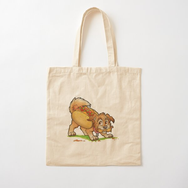 Hot Dog! Cotton Tote Bag