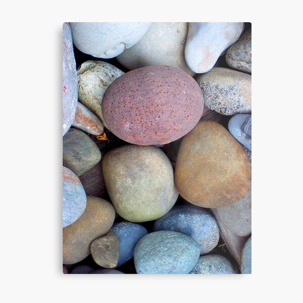 Rainbow Rocks Metal Print