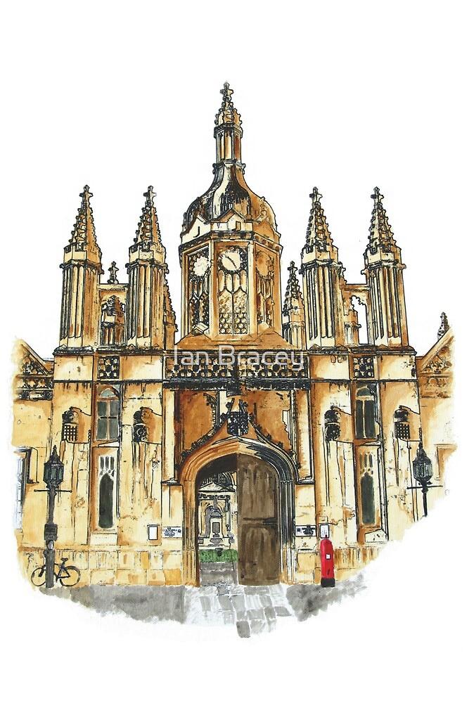 King's College Porter's Lodge, Cambridge by Ian Bracey