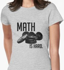 Math is Hard Women's Fitted T-Shirt