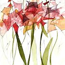 Red Lilies by anartistsview