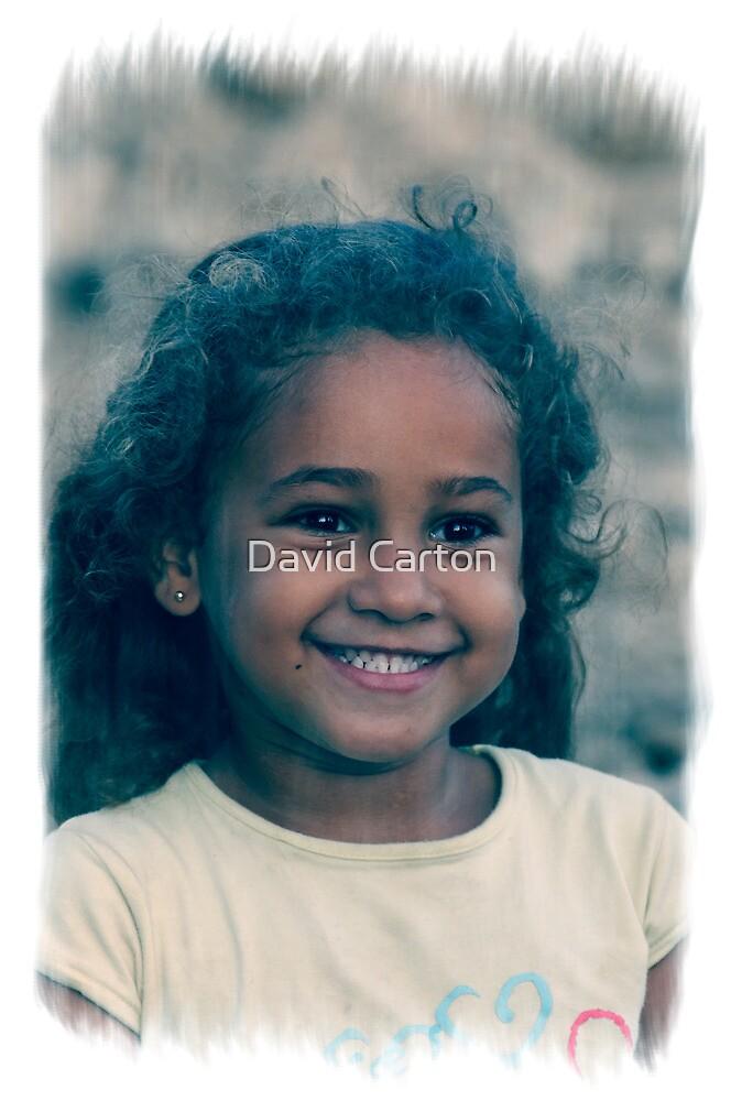 Young Cuban girl, Cuenfuegos, Cuba by David Carton