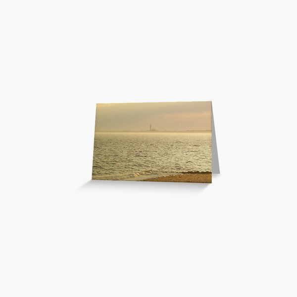Provincetown From Afar Greeting Card