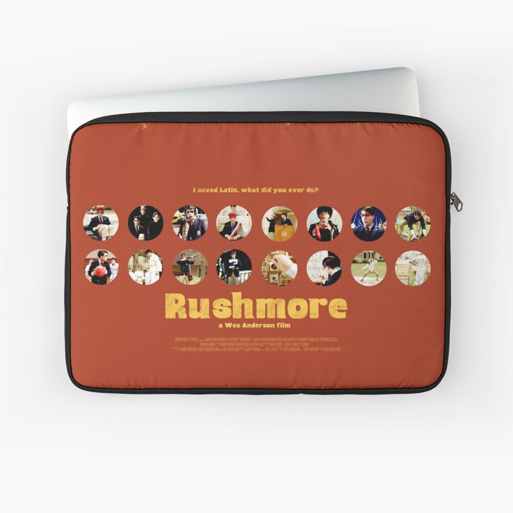 Rushmore featuring the many faces of Max Fischer Laptoptasche