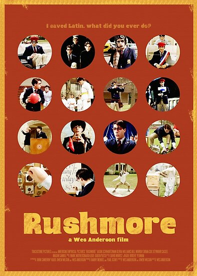 Rushmore featuring the many faces of Max Fischer von isabelgomez