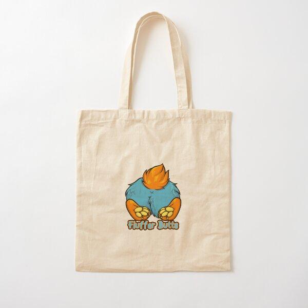 Volta Corgi Fluffer Butt Cotton Tote Bag