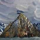 Yellow Mountains Himalayas by towncrier
