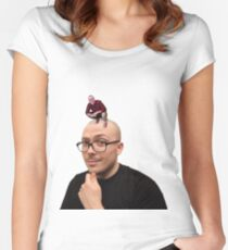 Anthony Fantano Women's Fitted Scoop T-Shirt