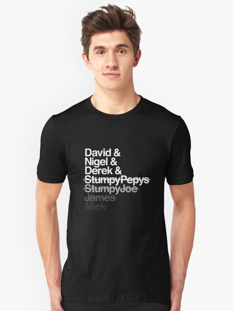 Spinal Tap - The Helvetica Music Project Unisex T-Shirt Front
