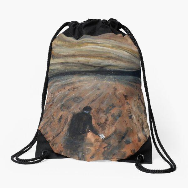 'upstream' .. Drawstring Bag