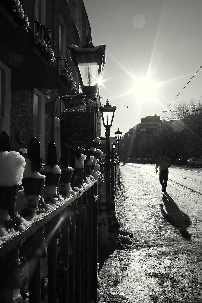 Winter sun on Harcourt Street by Esther  Moliné