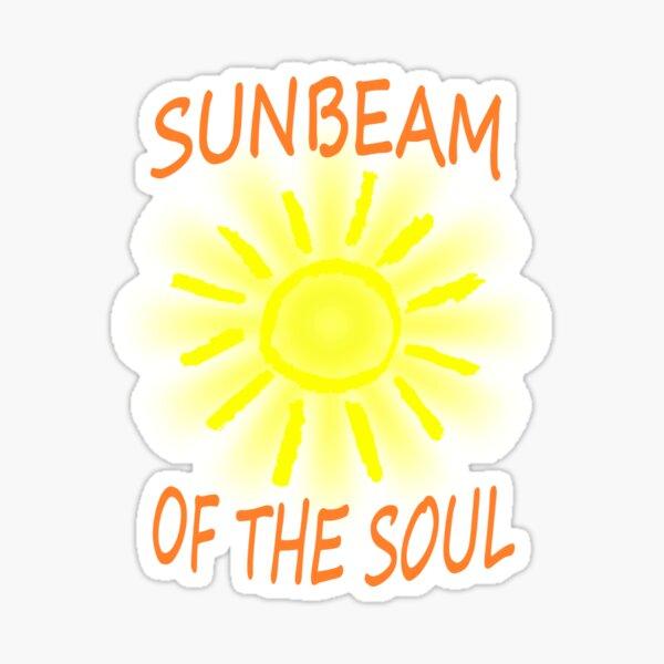 Sonnenstrahl der Seele / Sunbeam of the Soul Sticker