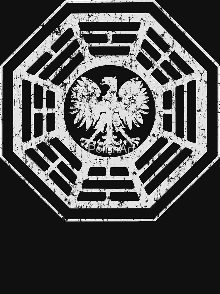 Polish Eagle Dharma t shirt by PolishArt