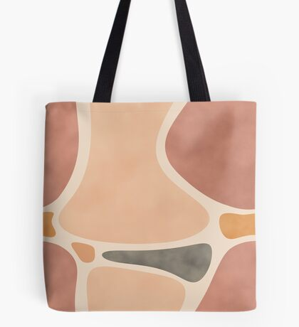 Pottery Shapes #redbubble #abstractart Tote Bag