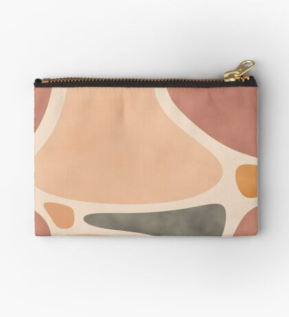 Pottery Shapes #redbubble #abstractart Zipper Pouch