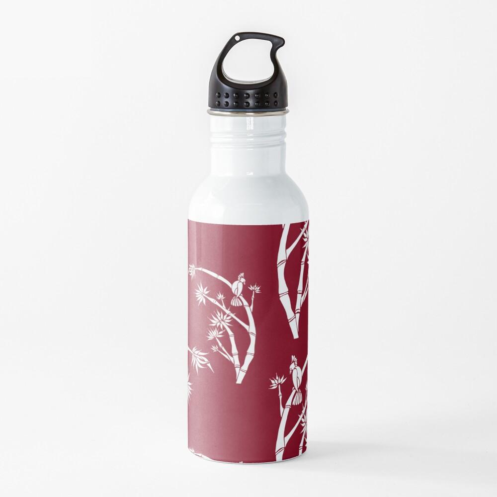 Oriental bamboo bird Water Bottle