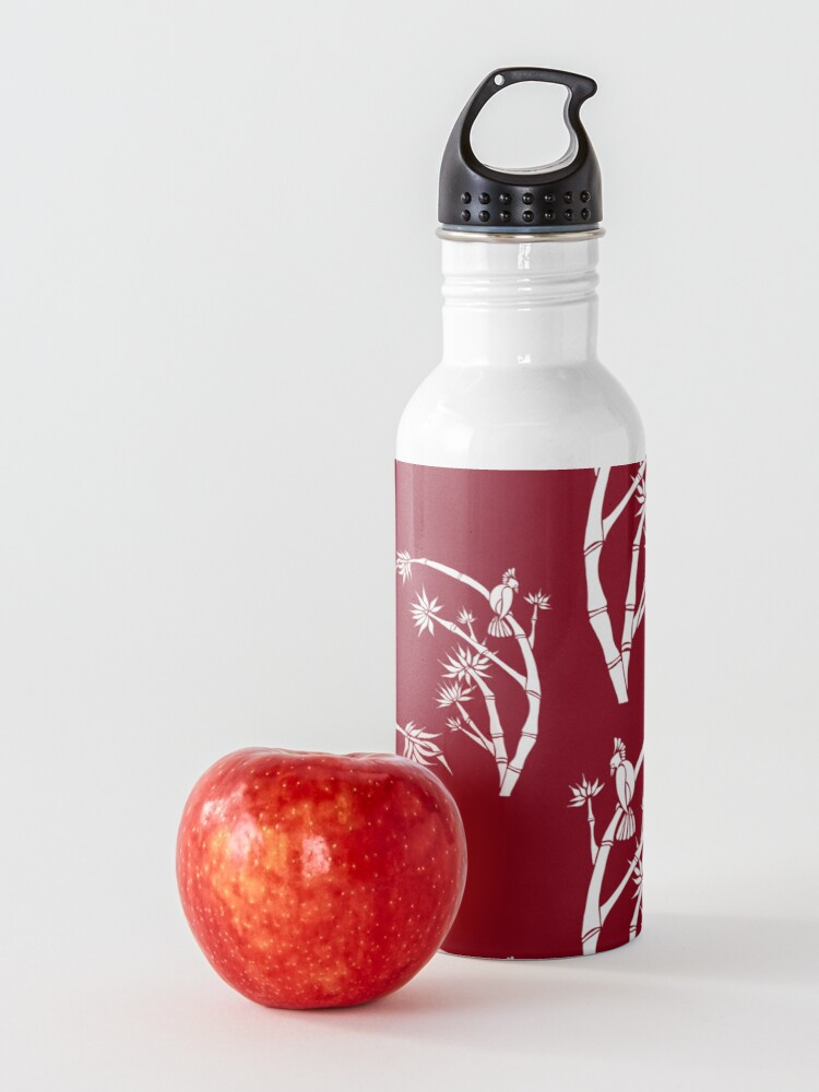 Alternate view of Oriental bamboo bird Water Bottle