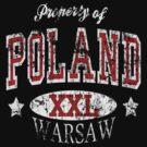 Property of Poland Warsaw t shirt by PolishArt