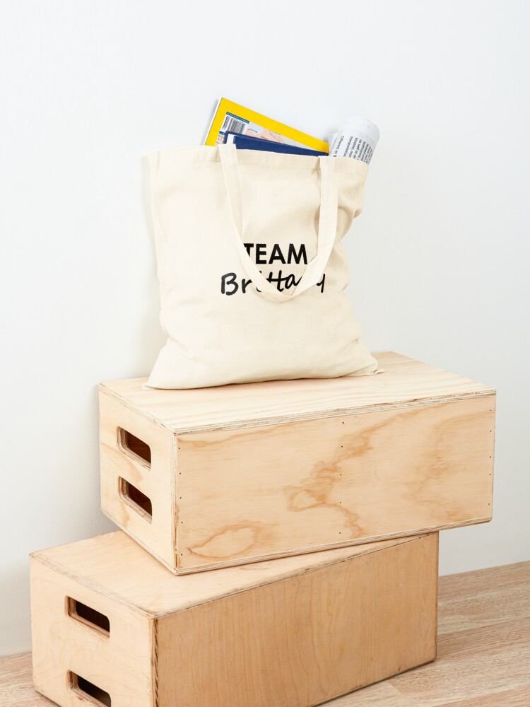 Alternate view of Team Brittany - Tote Bag Tote Bag