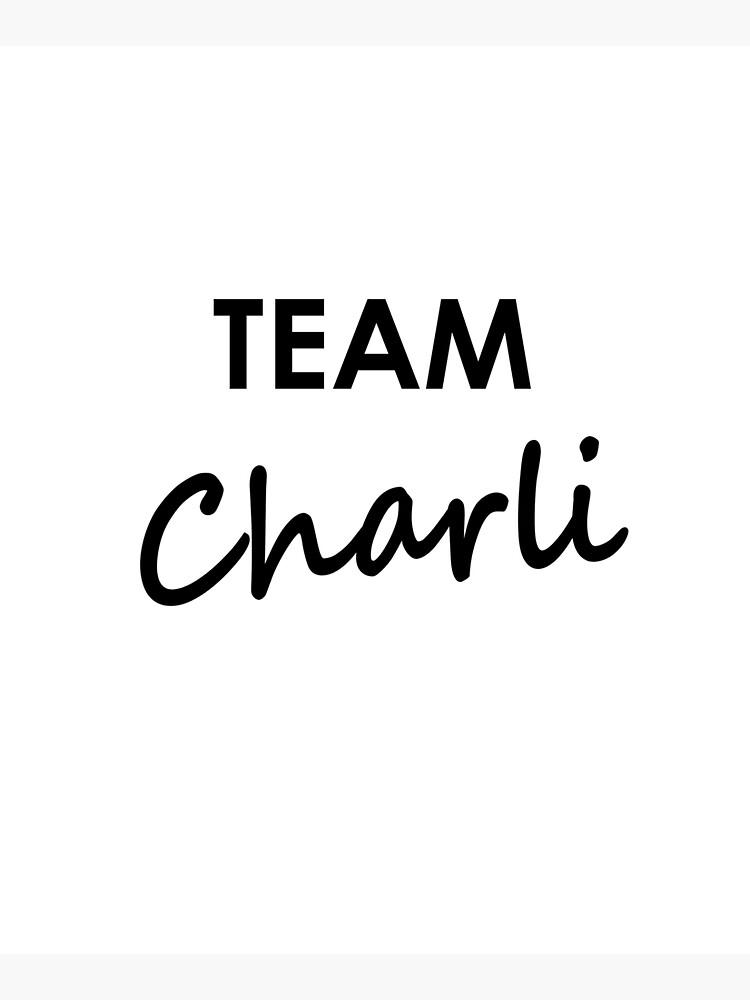 Team Charli - Tote Bag by embourne