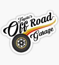 Off Road Garage Sticker