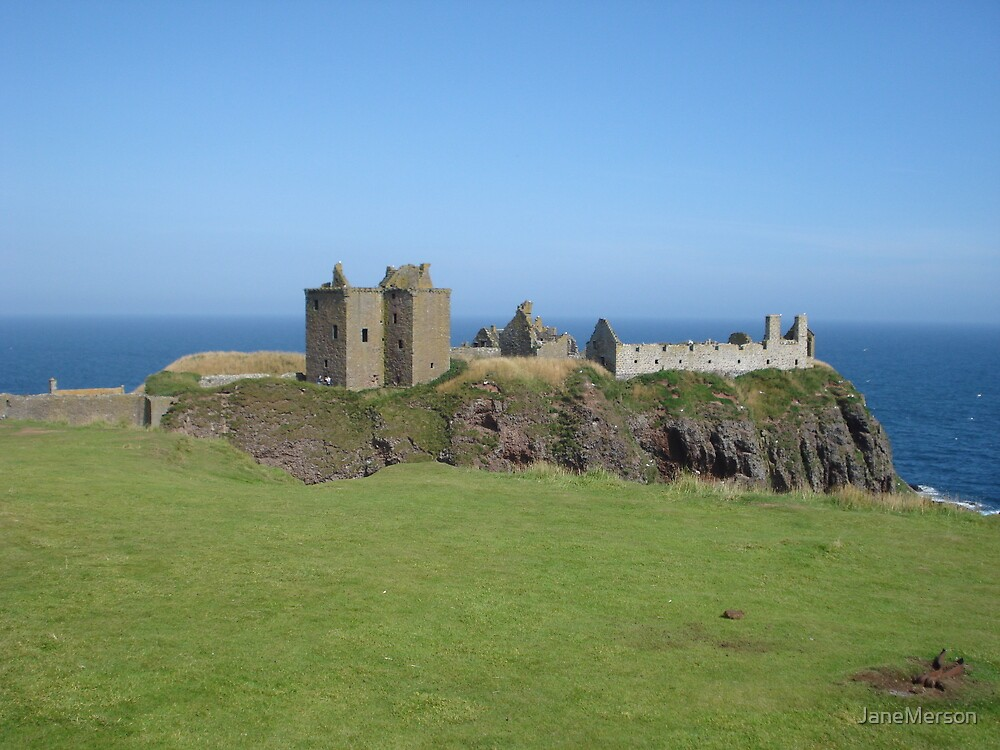 Dunottar Castle by JaneMerson