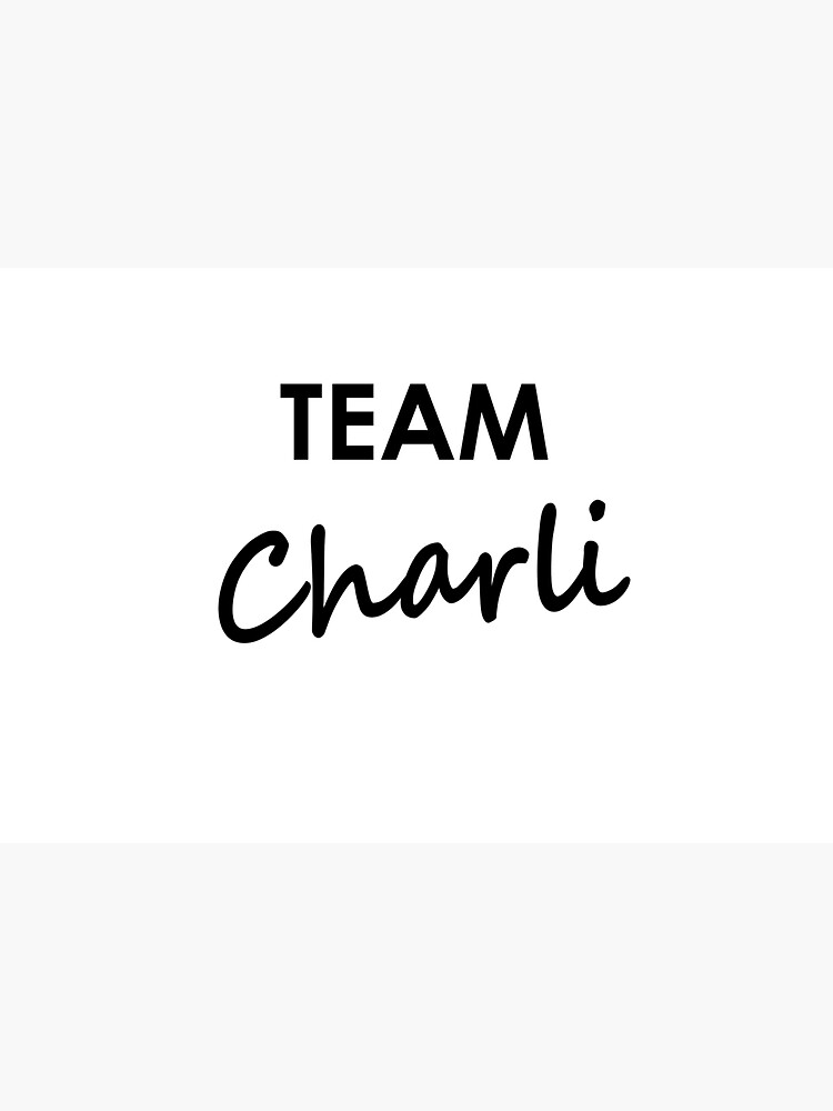Team Charli - Water Bottle by embourne