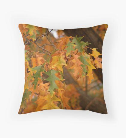 Farewell Autumn Throw Pillow
