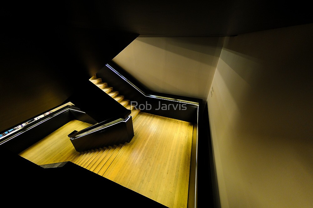 Tate Modern Stairway by Rob Jarvis