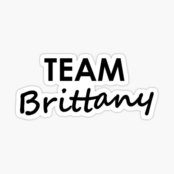 Team Brittany - Sticker Sticker
