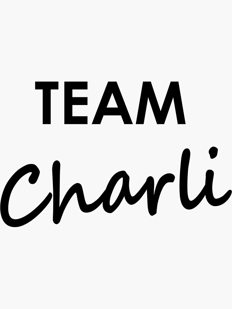 Team Charli - Sticker by embourne