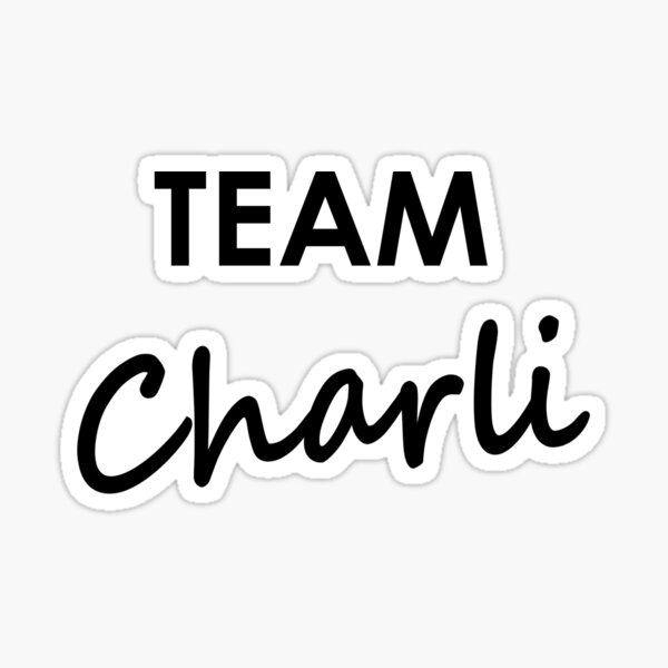 Team Charli - Sticker Sticker