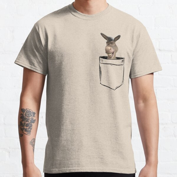 Donkey Pocket Classic T-Shirt