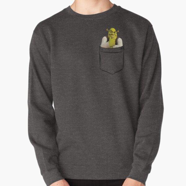 Shrek Pocket Pullover Sweatshirt