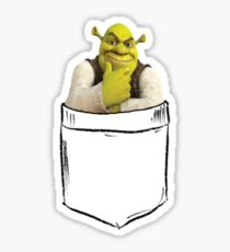 Shrek Pocket Sticker