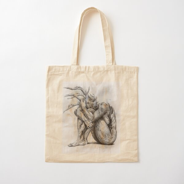 Skin Deep Cotton Tote Bag