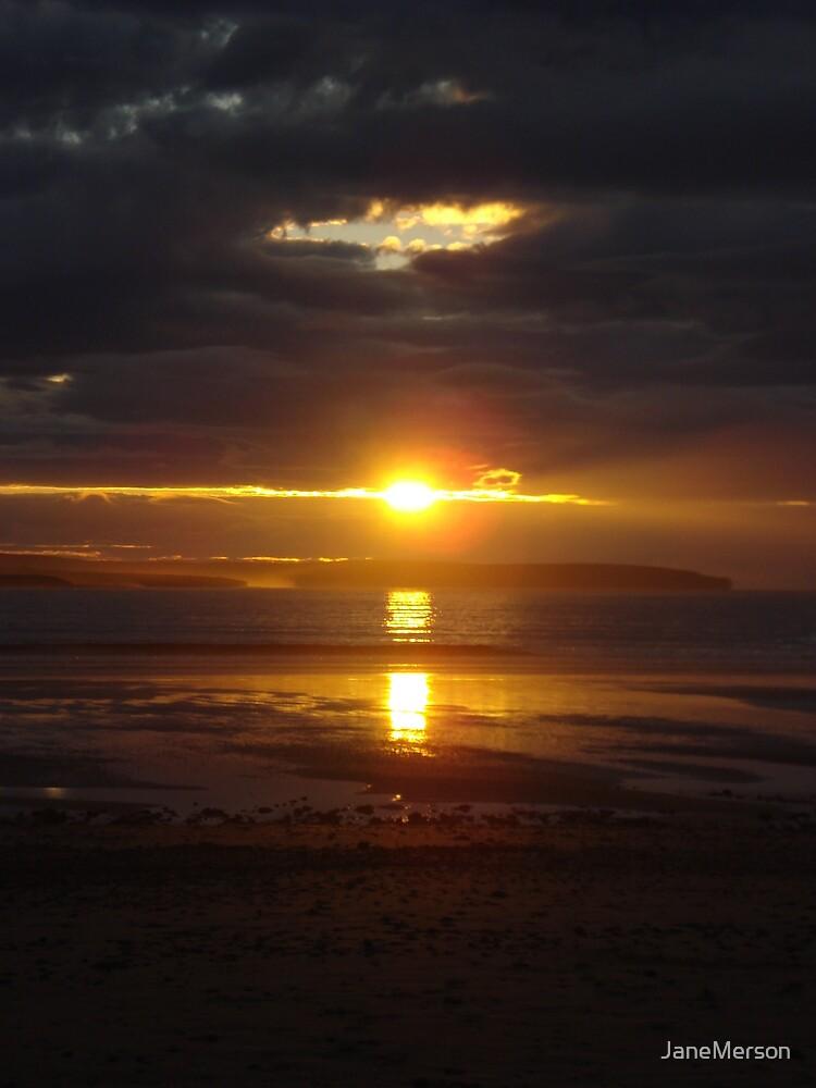 Striking Highland Sunset by JaneMerson
