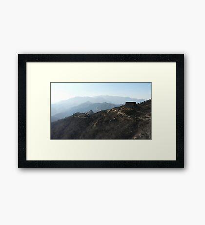 The Great Wall II Framed Print
