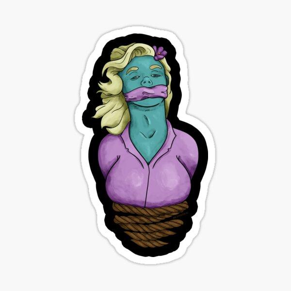 Chloroform Girl Sticker