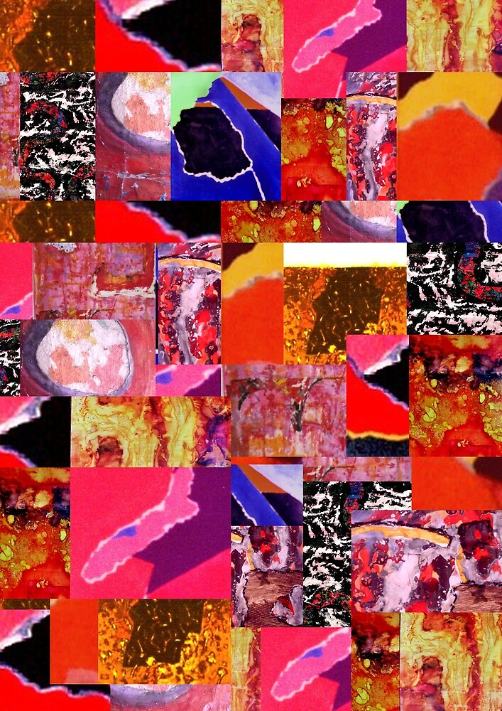 Collage 3. by Richard  Tuvey