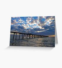 Port Noarluga Jetty, Adelaide Greeting Card
