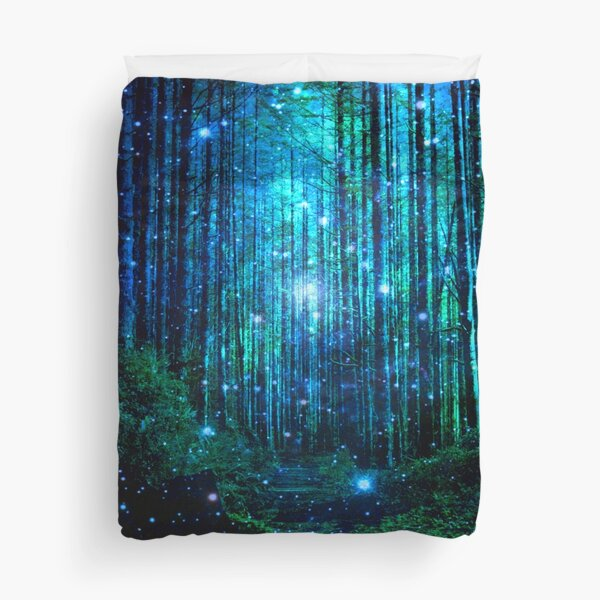 In the magical Forest Duvet Cover