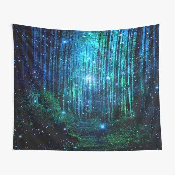 In the magical Forest Tapestry