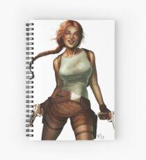 Old Raider Spiral Notebook