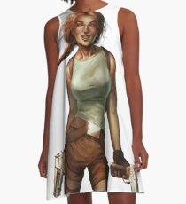 Old Raider A-Line Dress